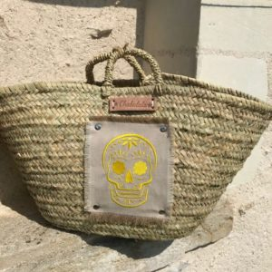 beach bag embroidered