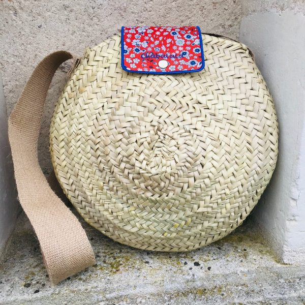 round basket with liberty