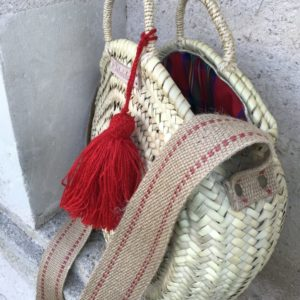 tassel beach bag