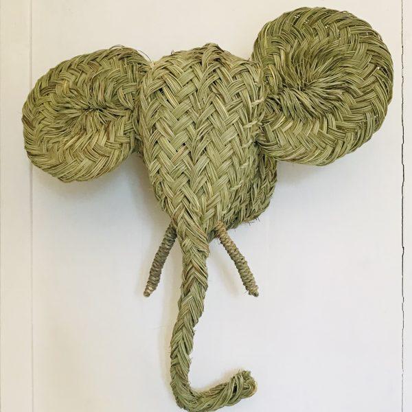 woven-elephant-head