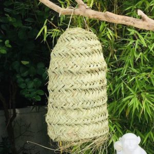 woven lampshade